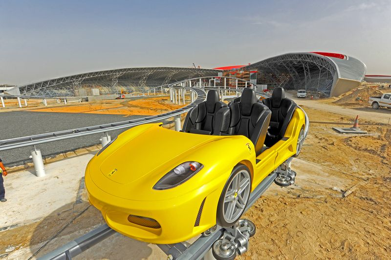 GT coaster car